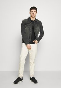 Tommy Jeans - DAD - Jeansy Straight Leg - work ecru rig - 1