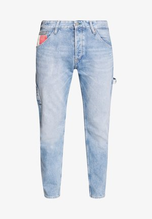 TAPERED CARPENTER - Jeansy Zwężane - light-blue denim