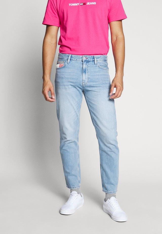 DAD JEAN - Jeans a sigaretta - light-blue denim