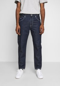 Tommy Jeans - TAPERED CARPENTER - Jean boyfriend - dark-blue denim - 0