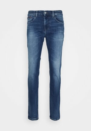 AUSTIN SLIM - Slim fit jeans - queens mid blue