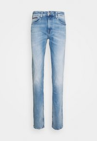 Tommy Jeans - AUSTIN SLIM TAPERED - Jeans Tapered Fit - light-blue denim - 4
