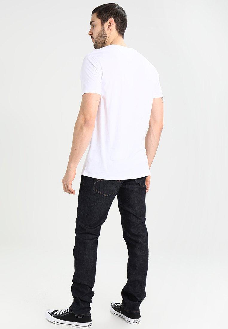 Tommy Jeans FitT Basique Tee shirt Original Regular Classic White ZiuPOkTwX