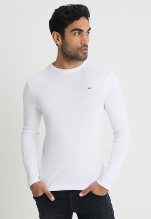 ORIGINAL SLIM FIT - Long sleeved top - classic white