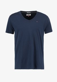 Tommy Jeans - ORIGINAL REGULAR FIT - Camiseta básica - black iris - 3