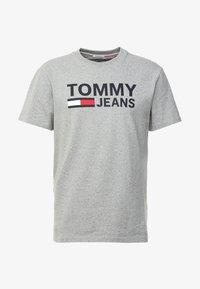 Tommy Jeans - CLASSICS LOGO TEE - T-shirt imprimé - grey - 3