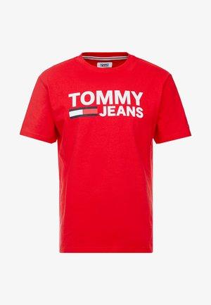 CLASSICS LOGO TEE - T-Shirt print - racing red