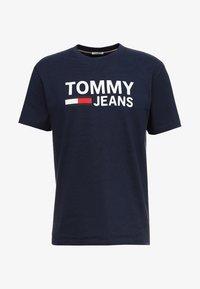 Tommy Jeans - CLASSICS LOGO TEE - Print T-shirt - blue - 3