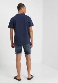 Tommy Jeans - CLASSICS LOGO TEE - Print T-shirt - blue - 2