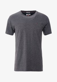 Tommy Jeans - ESSENTIAL SOLID TEE - Basic T-shirt - dark grey heather - 4