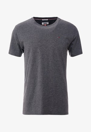 ESSENTIAL SOLID TEE - Camiseta básica - dark grey heather