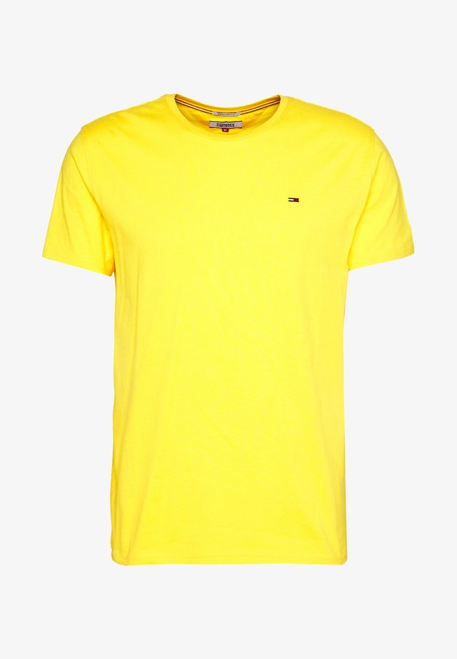 ESSENTIAL SOLID TEE - T-shirts basic - star fruit yellow