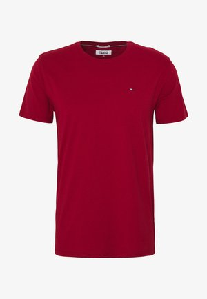 ESSENTIAL SOLID TEE - Basic T-shirt - wine red