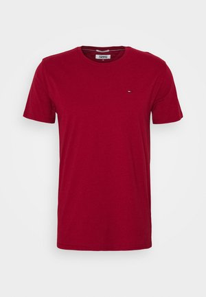 ESSENTIAL SOLID TEE - T-shirt basic - wine red