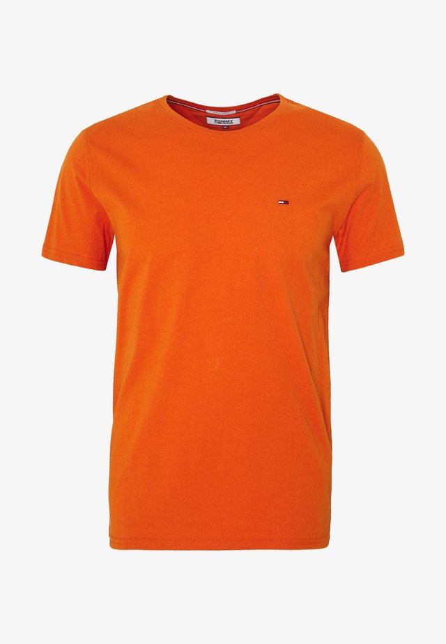 ESSENTIAL SOLID TEE - T-shirt basique - bonfire orange