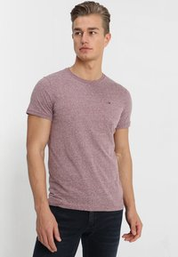 Tommy Jeans - ESSENTIAL TRIBLEND TEE - T-shirt basique - red - 0