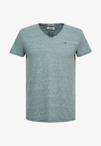 Tommy Jeans - BASIC VNECK TEE SLIM FIT - Camiseta básica - atlantic deep - 4