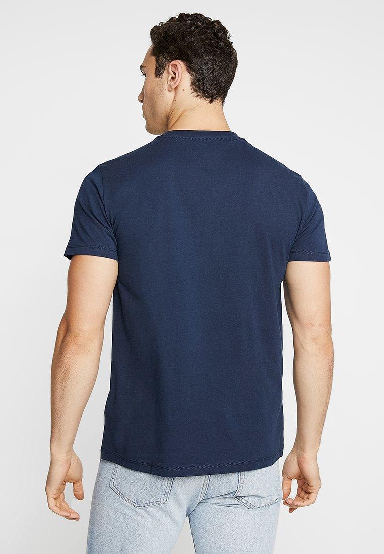 Jeans Tommy TeeT Pocket Contrast Blue Imprimé shirt HEDIW92