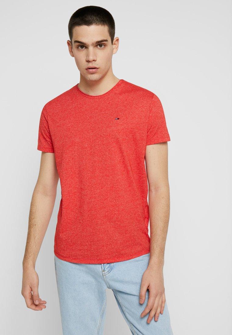 Tommy Jeans - ESSENTIAL JASPE TEE - Camiseta básica - red