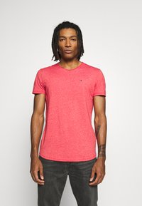 Tommy Jeans - ESSENTIAL JASPE TEE - T-shirt basique - racing red - 0