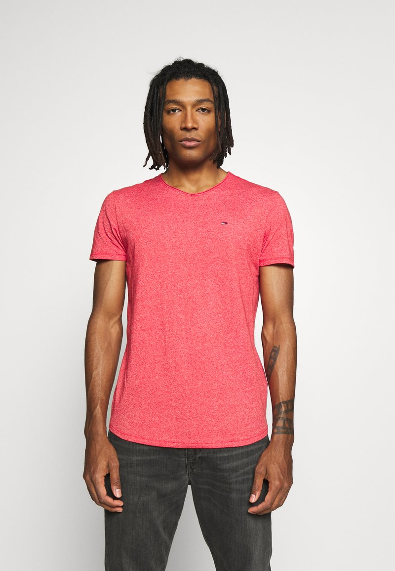 Tommy Jeans - ESSENTIAL JASPE TEE - T-shirt basique - racing red