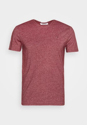 ESSENTIAL JASPE TEE - Basic T-shirt - wine red