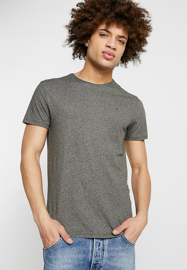 Tommy Jeans - ESSENTIAL JASPE TEE - Basic T-shirt - green