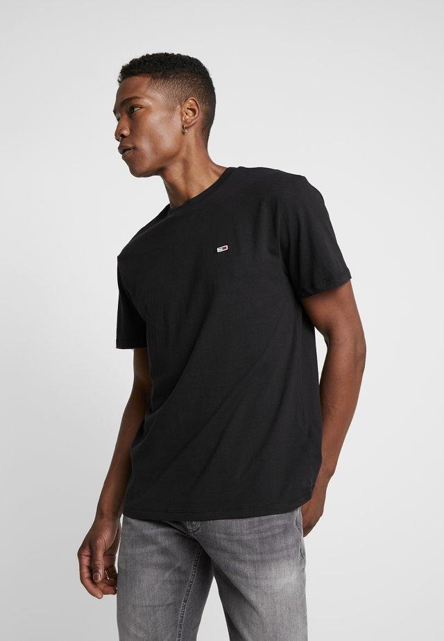 CLASSICS TEE - T-shirt - bas - black