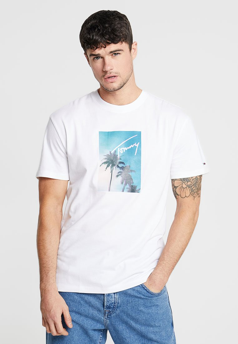 Tommy Jeans - T-Shirt print - white
