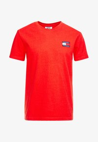 Tommy Jeans - BADGE TEE - T-shirt basic - red - 4