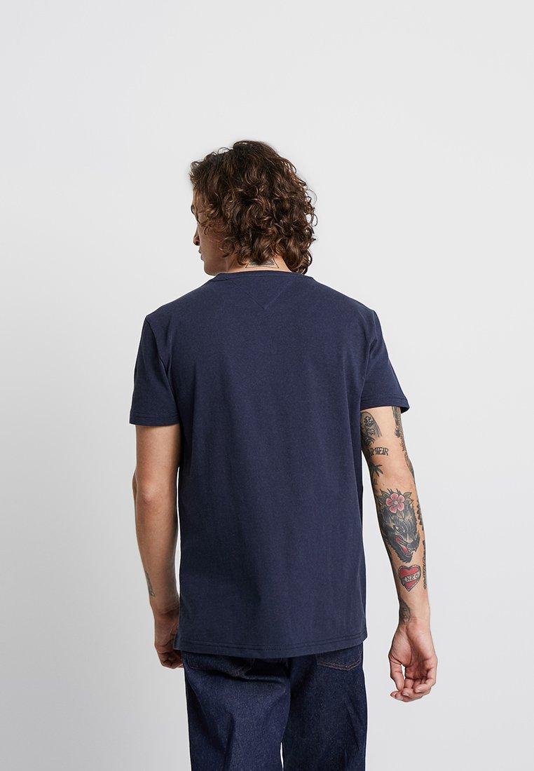 Badge Basique Blue Tommy Jeans TeeT shirt IYDH29WE