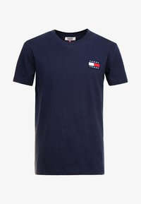 Tommy Jeans - BADGE TEE - T-shirt basic - blue - 3