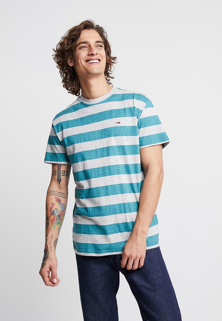 shirt TeeT Imprimé Blue Stripe Jeans Tommy Heather thrCBxosQd