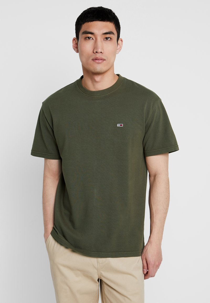 Tommy Jeans - WASHED TEE - T-Shirt basic - green