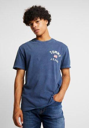 CHEST LOGO TEE - T-shirt imprimé - black iris