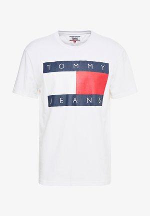 FLAG TEE - T-shirts med print - classic white