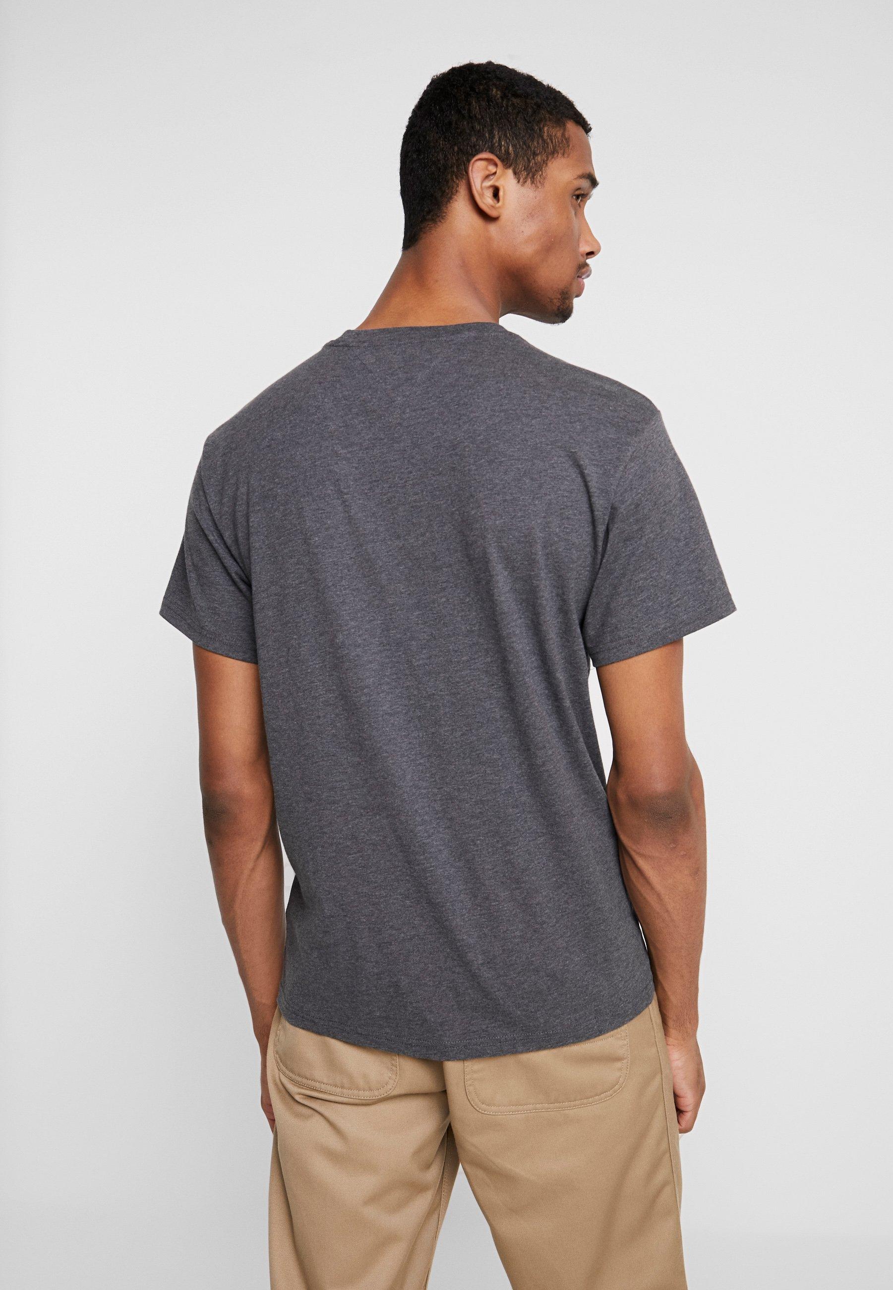 Dark Twisted Logo shirt Grey Small Tommy Imprimé TeeT Jeans WED2YIH9