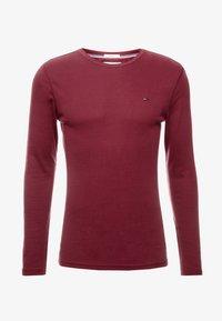 Tommy Jeans - LONG SLEEVE TEE - Camiseta de manga larga - burgundy - 3