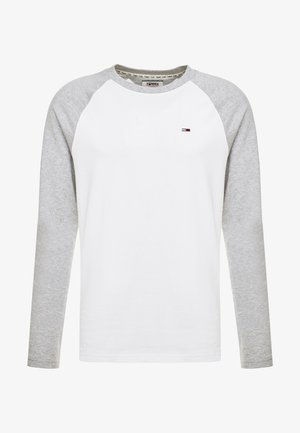 RAGLAN TEE - Maglietta a manica lunga - light grey heather