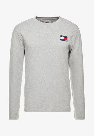 BADGE  - Langærmede T-shirts - light grey heather