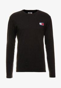 Tommy Jeans - BADGE  - T-shirt à manches longues - black - 4