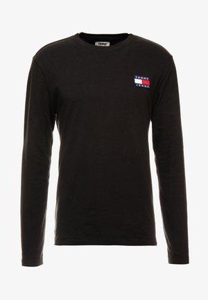 BADGE  - Long sleeved top - black
