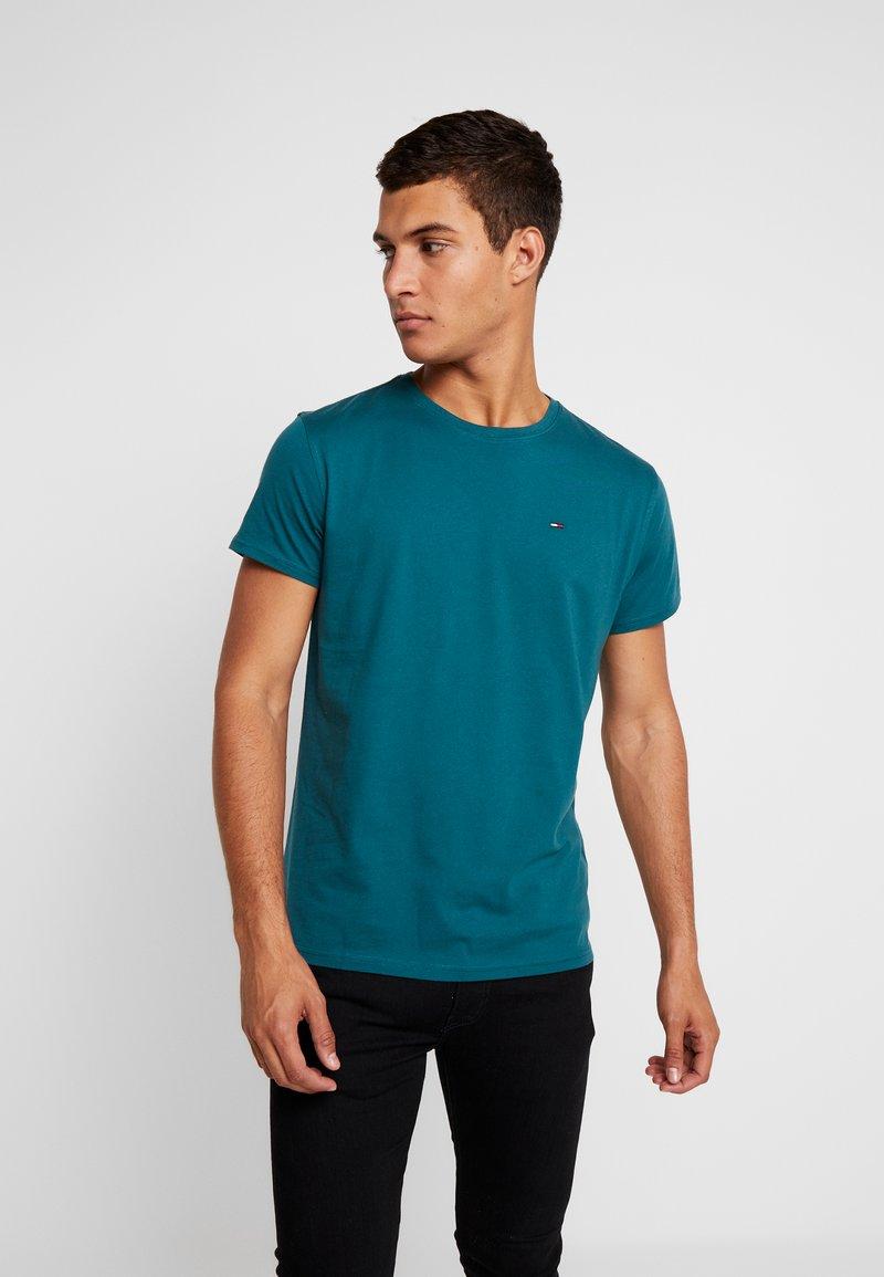 Tommy Jeans - ORIGINAL CREW TEE - T-shirt - bas - atlantic deep