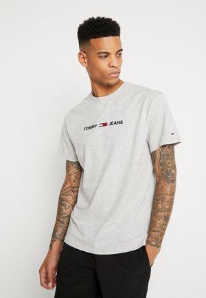 T-shirt con stampa - light grey heather