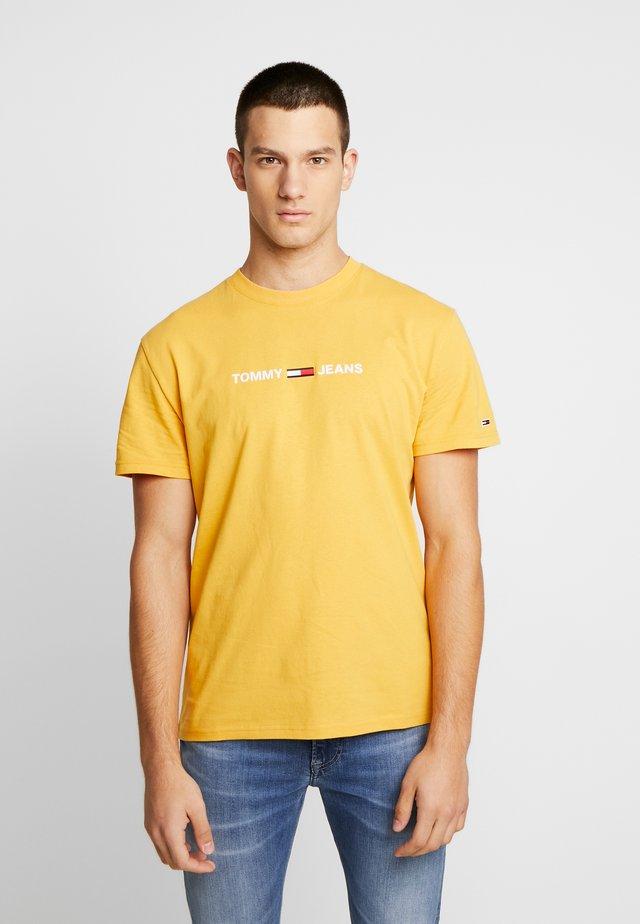 T-shirts print - golden glow