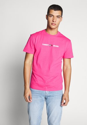 T-shirt con stampa - bright cerise pink
