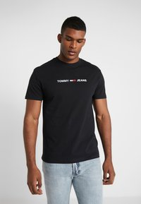 Tommy Jeans - T-Shirt print - black - 0