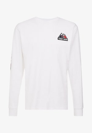 USA MOUNTAIN LOGO TEE - Long sleeved top - classic white