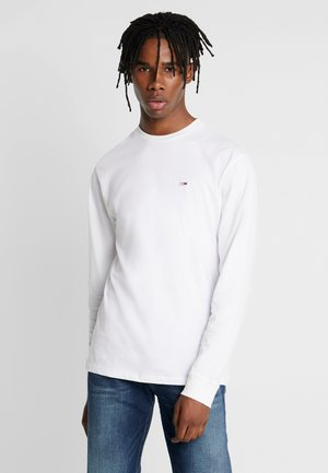 CLASSICS LONGSLEEVE TEE - Long sleeved top - classic white