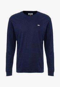 Tommy Jeans - CLASSICS LONGSLEEVE TEE - Langærmede T-shirts - black iris - 3